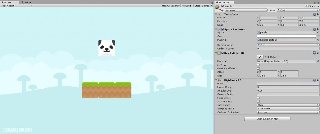 SimplePhysicsGame-Part2-Panda