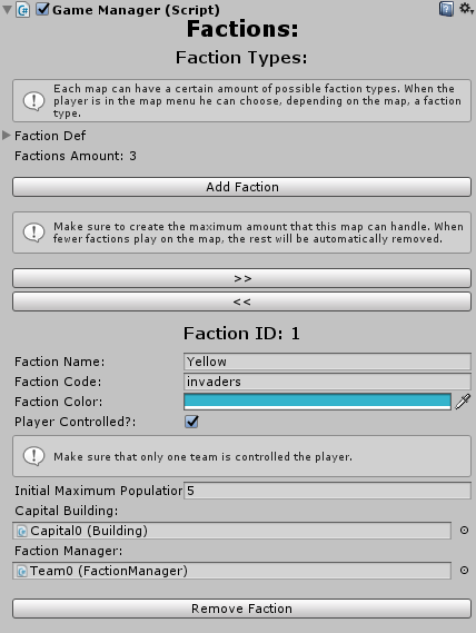 Faction Definition: With Faction Types, You Can Easily Assign Unique  Buildings And Units For Each Faction. The U201cFaction Defu201d List Includes All  The Faction ...